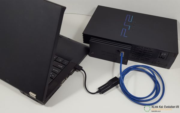 PS2 fat connected to laptop by USB.jpg