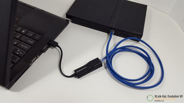 PS2 slim connected to laptop by USB.jpg